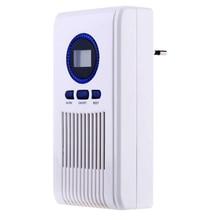 Generador de ozono purificador de aire hogar ozonizador desodorizador Oficina limpiador de aire esterilización aplicar inodoro, habitación, cocina 220V 7W Alanchi