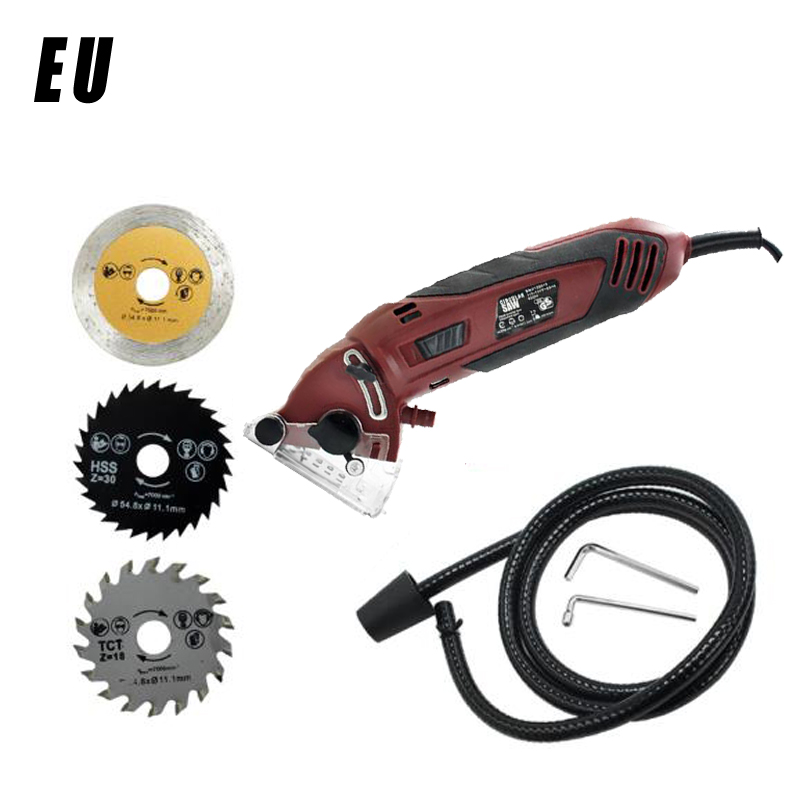 Mini Electric Saw Hex Wrench Blades 110V/220V Multifunctional Electric Circular Saw Cutters Power Rotary Tool Set|Tool Parts| |  - title=