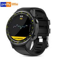 F1 Astuto di GPS della vigilanza di frequenza Cardiaca della vigilanza tracker uomini smartwatch Multi-Modalità sport SIM Card Pedometro per Android Ios telefoni