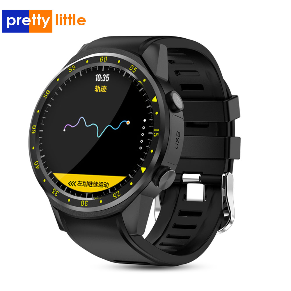 F1 Smart watch GPS montre, tracker de fréquence cardiaque hommes smartwatch Mode multi-sport de carte SIM podomètre pour téléphones Ios Android