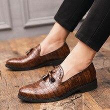 CIMIM/брендовые модные нарядные туфли для мужчин; деловая офисная обувь Bullock; Мужская Роскошная обувь года в итальянском стиле; большие размеры; мужская повседневная обувь