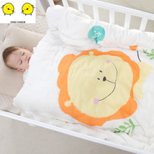 Baby Blankets New Thicken Infant Swaddle Bebe Envelope Wrap Cute Printed Newborn Baby Bedding Hooded Blanket Baby Swaddle(China)