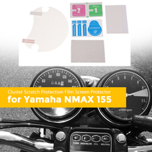 1 Set Motorcycle Dashboard Scratch Cluster Screen Protection Film Protector For Yamaha NMAX-155 Motorbike Accessories