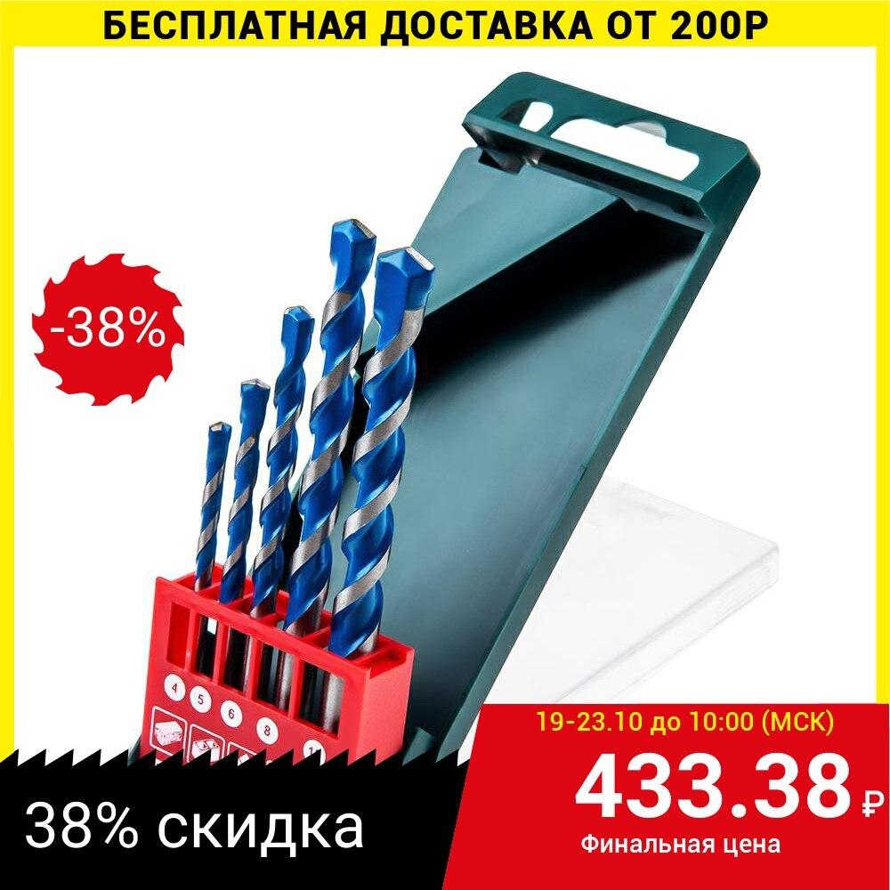 Juego de brocas flexibles Hammer 202 943 universal 4,5,6,8,10mm|Taladros|   - AliExpress