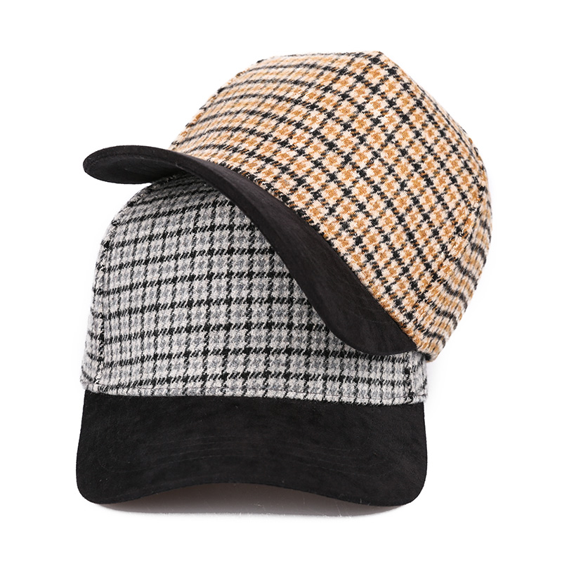 Sedancasesa модная бейсболка для женщин Snapback Кепка s солнцезащитные козырьки шляпы весна-осень для девочек грязная сетчатая Кепка клетчатый узор