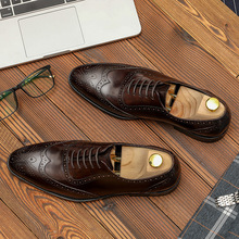 Men dress shoes  Business Designer Crocodile Leather Shoes Loafers Oxford