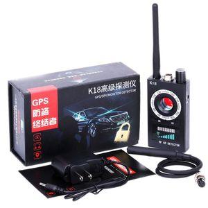 1MHz-6.5GHz K18 Anti Spy RF kamera detektora bezprzewodowy błąd wykrywania GSM urządzenie podsłuchowe Finder Radar skaner radiowy