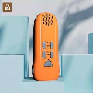 Image 1 - Youpin multi fonction main alarme lampe de poche automatique Radio lampe de poche Led type c Rechargeable en plein air outil de secours