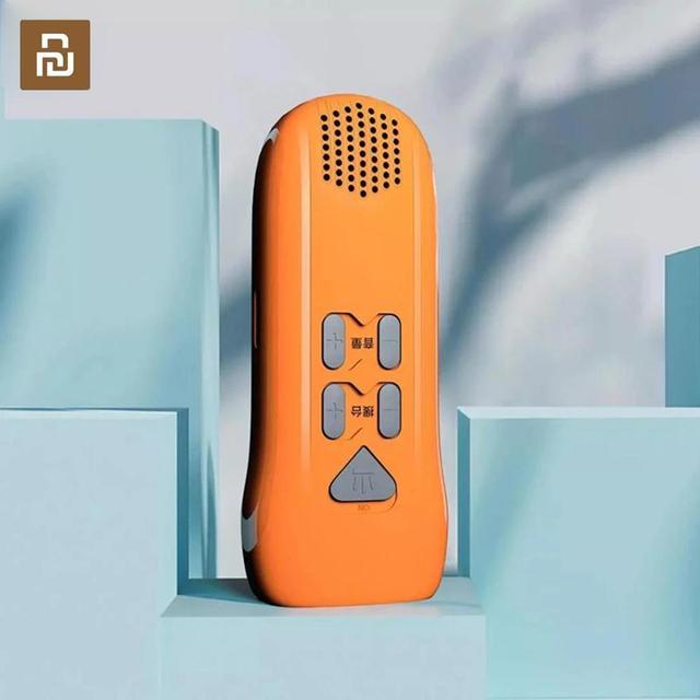 Youpin multi fonction main alarme lampe de poche automatique Radio lampe de poche Led type c Rechargeable en plein air outil de secours