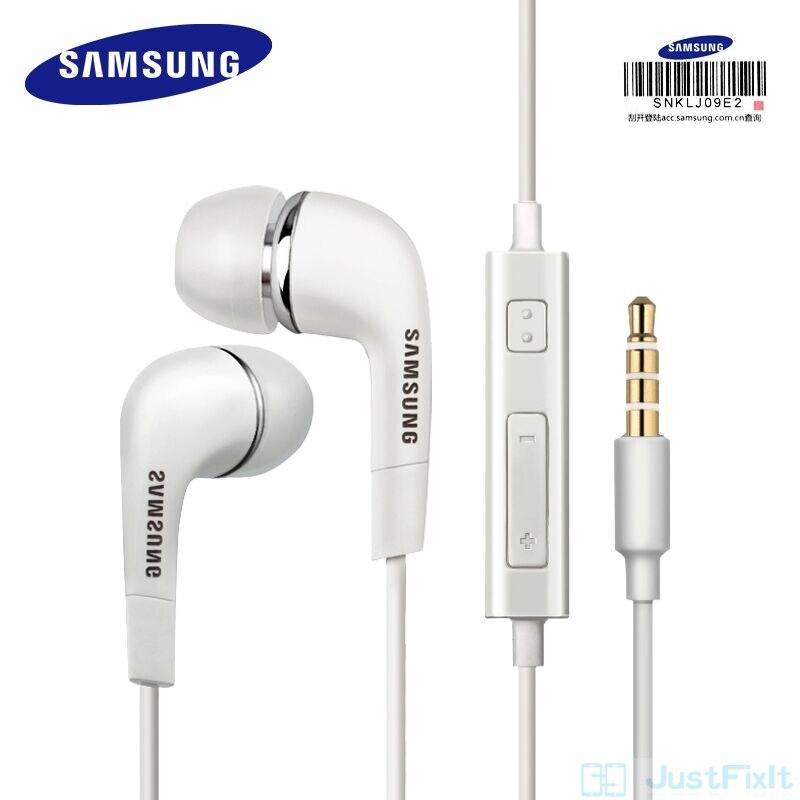 SAMSUNG-Fone de ouvido SAMSUNG Original EHS64 com fio de 3,5 mm, intra-auricular, com microfone para modelos Galaxy S8 S8Edge, suporte e certificação oficial