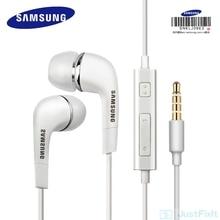 Оригинальные наушники EHS64 Samsung с микрофоном, проводные наушники для Samsung Galaxy S8 и S8 Edge, 3,5 мм, официальная сертификация
