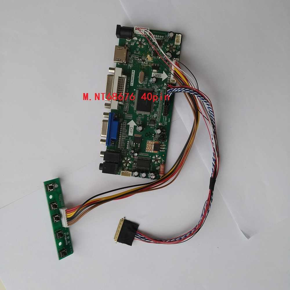N2 Audio LCD Controller Driver Board Kit for LP156WH4 DVI HDMI VGA TL