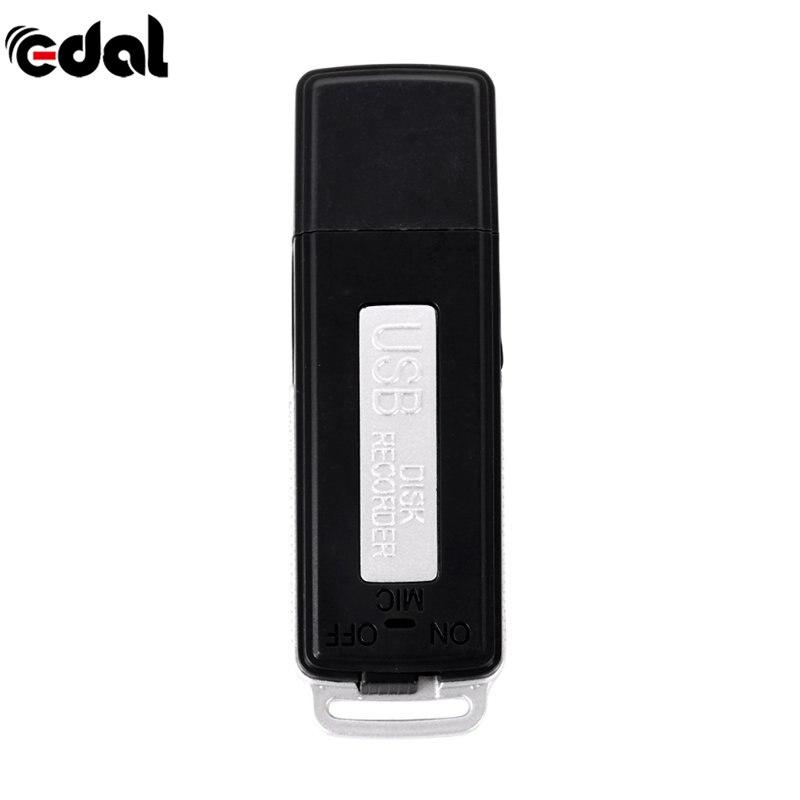 Мини 2 в 1 8 Гб USB ручка флеш-накопитель цифровой Аудио Диктофон 70 часов портативный мини Запись Диктофон