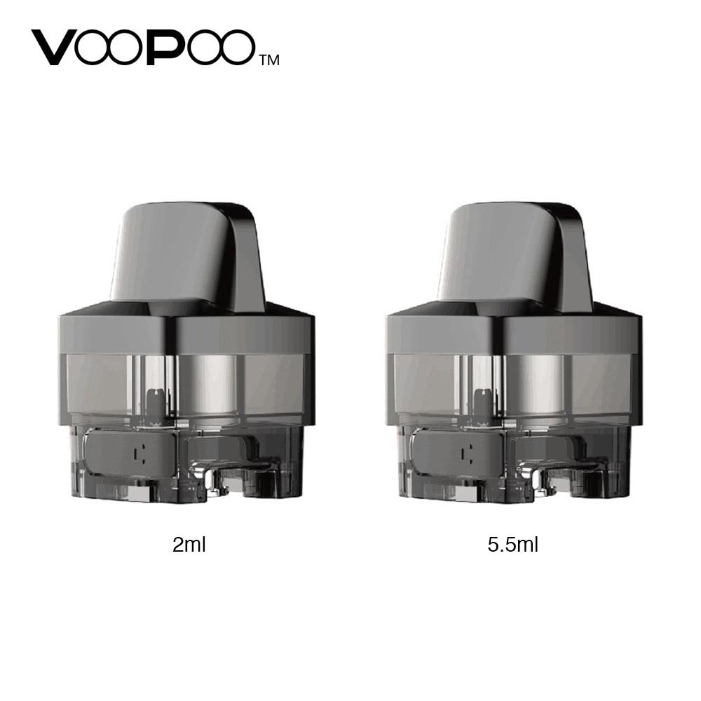 Original 2pcs/pack VOOPOO VINCI Replacement Pod Cartridge 5.5ml/2ml Capacity For VOOPOO VINCI Mod Pod Kit And VINCI R Mod Kit