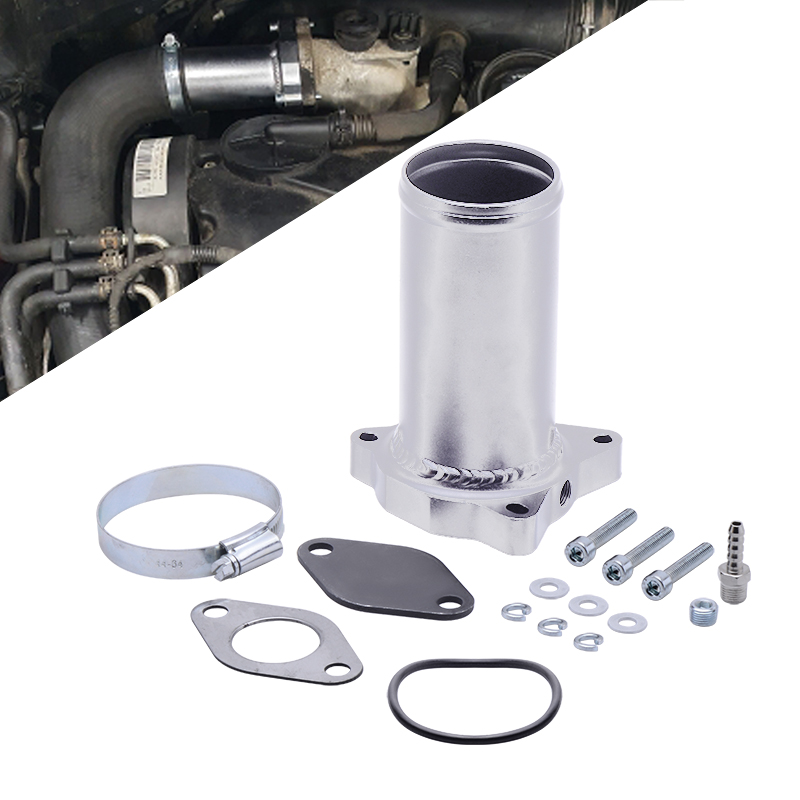 57MM EGR Valve Replacement Pipe  suit for audi seat VW 1 9 TDI 130 160 BHP  2 25inch Diesel egr delete kits