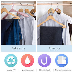 5Pcs Simple Mini Non-Slip Clothes Hanger Home Easy Hook Closet Organizer Storage Rack Holder Hook Home And Living Storage