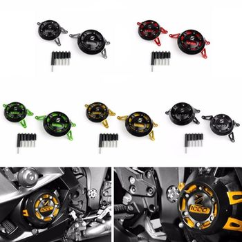 1 Pc Aluminum Motorcycle Engine Guard Side Stator Case Guard Protector For Kawasaki Z1000 Motor Parts Accessories 5 Colors