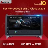 2 din android 10 Car Multimedia for Mercedes Benz B200 Sprinter W906 W639AB Class W169 W245 Viano Vito GPS Navi Head Unit Radio
