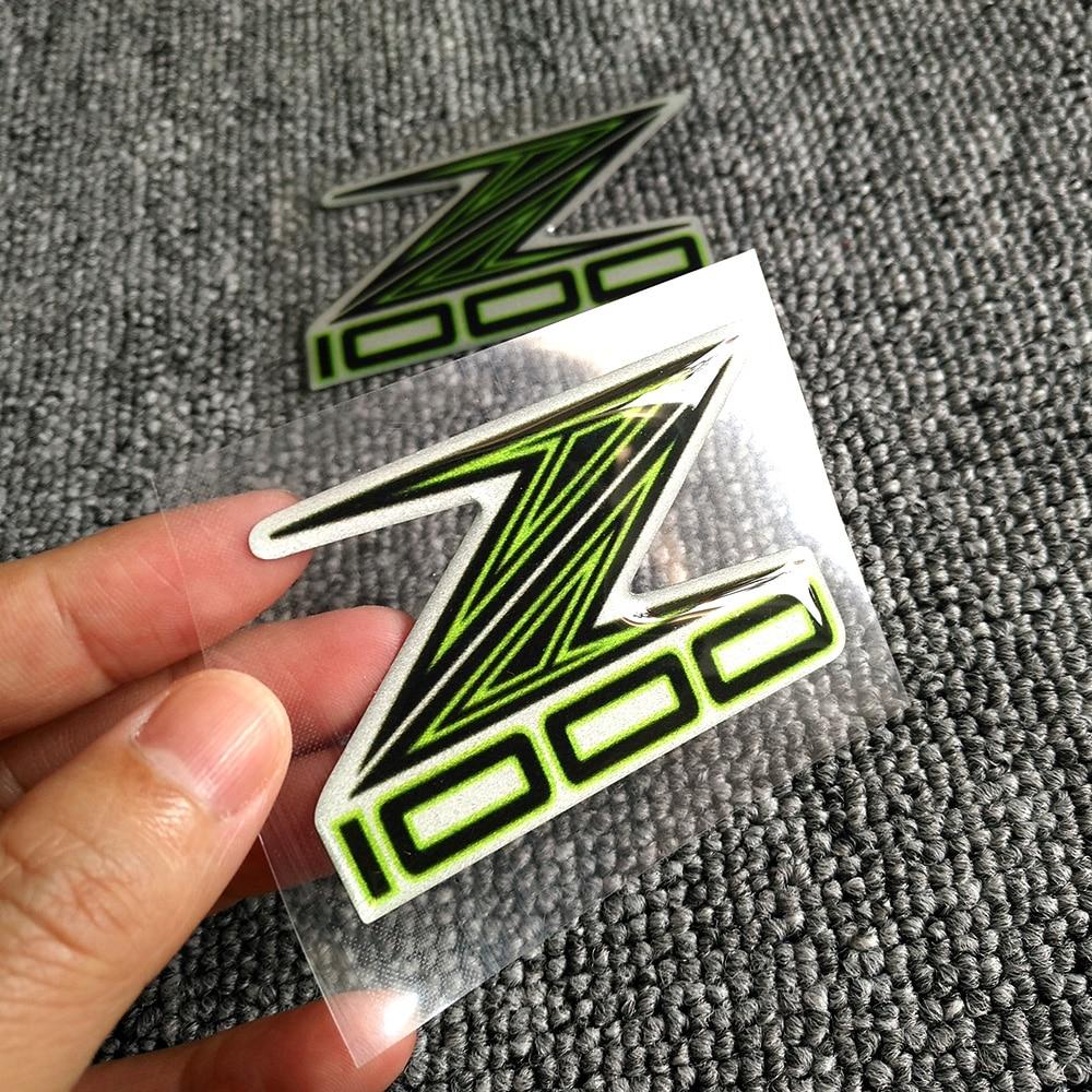 Z1000 Z 1000 For Kawasaki Z800 Z900 Motorcycle Decal Stickers Shape 3D Tank Pad Emblem ABS Logo Sticker Pads Z 800 900