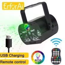 Projecteur Laser RGB 60 motifs, lumières de scène, commande vocale, fête musicale, spectacle, effet, lampe avec contrôleur