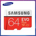 Samsung EVO PLUS Micro sd карта 32 Гб 64 Гб 128 ГБ 256 Гб карта памяти UHS-I 100 м/с класс 10 U3 TF карта SDHC SDXC с кардридером