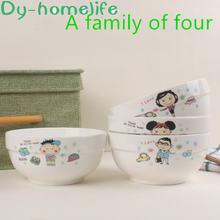 Корейский 6 дюймовый мультфильм родитель ребенок 4 шт керамическая