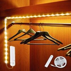 Draadloze Pir Motion Sensor Led Onder Kast Licht Led Strip Led Lamp Met Usb-poort Licht Voor Keuken Trap Garderobe licht