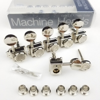 Vintage Nickel Lock String Locking Tuners Electric Guitar Machine Heads Tuners For ST TL Guitar Tuning Pegs