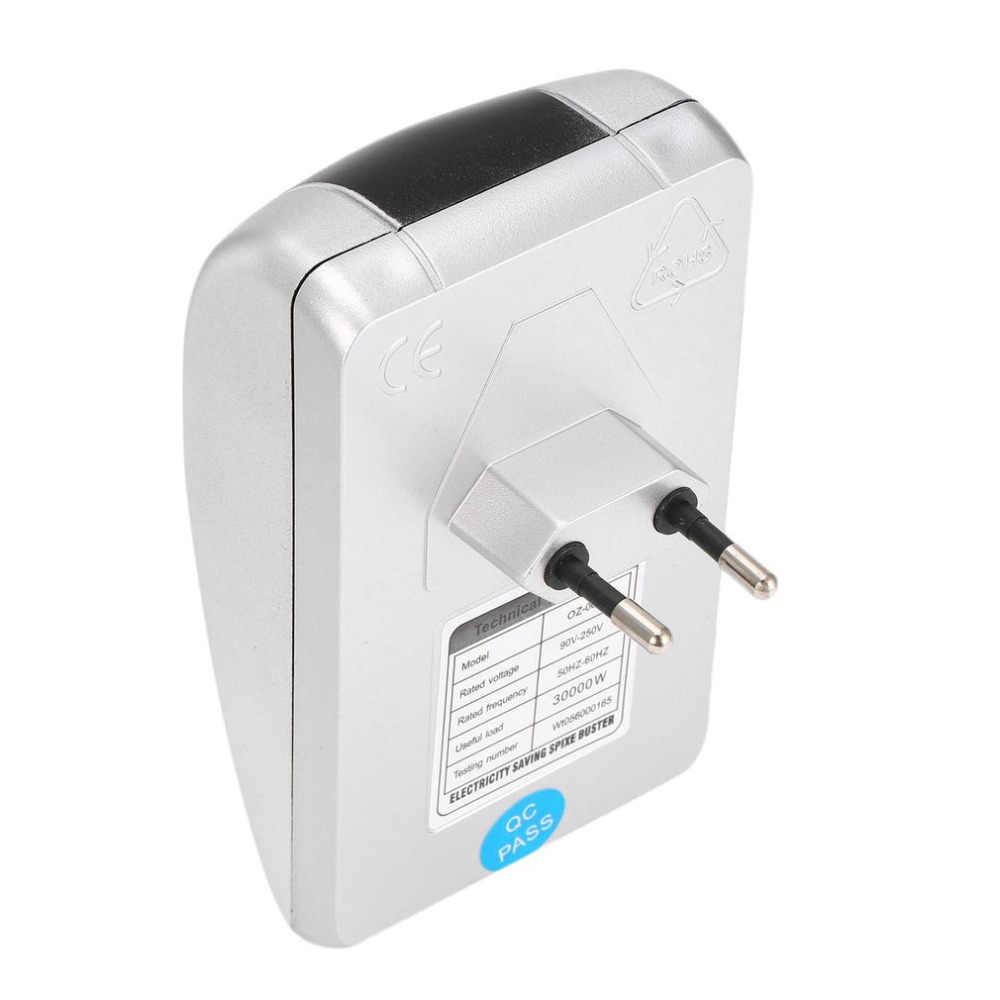 30KW 90 V-250 V Intelligent Energy Saver Smart Power LED Scatola di Risparmio Dispositivo di Energia Elettrica Bill Killer Fino a 30% STATI UNITI REGNO UNITO Spina di UE