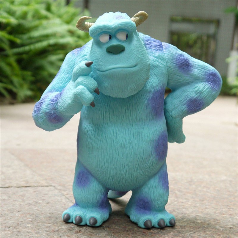 Disney Monsters University Original Cartoon Anime Characters Sulley Action Figure Animation Film Model Kids Toy Boxed M5166 image