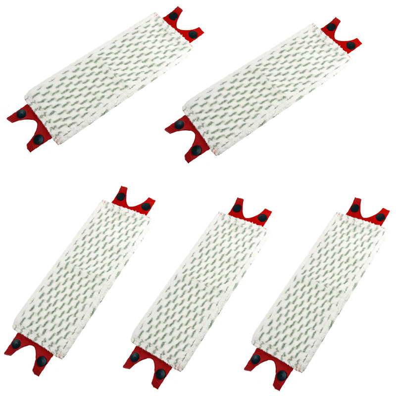 New 5pcs/Lot Microfibre Floor Mop Pads Replacement for Vileda UltraMax Mop Refill for o cedar mop(China)