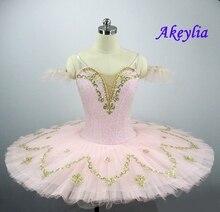 Peach Fairy Classical Ballet Tutu Adult Performance Pancake Ballet Tutu Costume Girls Platter Tutus Pink Professional Tutu JN032