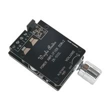 ZK-502L Bluetooth 5,0 беспроводной аудио цифровой усилитель мощности стереоплата 50Wx2 усилитель Bluetooth усилитель мощности