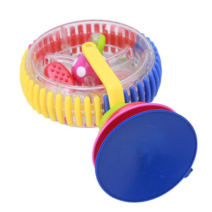 Image 2 - Baby toy plastic toys with three color rotating windmill belt sucker WJ122