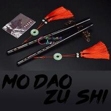 Mo Dao Zu Shi Gran Maestro del cultivo demoníaco, flauta Chen Qing Wei Wuxian Lan Wangji, puede jugar, accesorios de disfraces, regalo