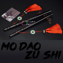 Mo Dao Zu Shi Großmeister von Dämonische Anbau Chen Qing Flöte Wei Wuxian Lan Wangji Können Spielen Cosplay Zubehör Prop geschenk