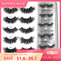 RED SIREN Mink Lashes Wholesale 25mm Lashes Dramatic Fluffy Long Lashes in Bulk Makeup Lashes Mink 25mm Wholesale Mink Eyelashes