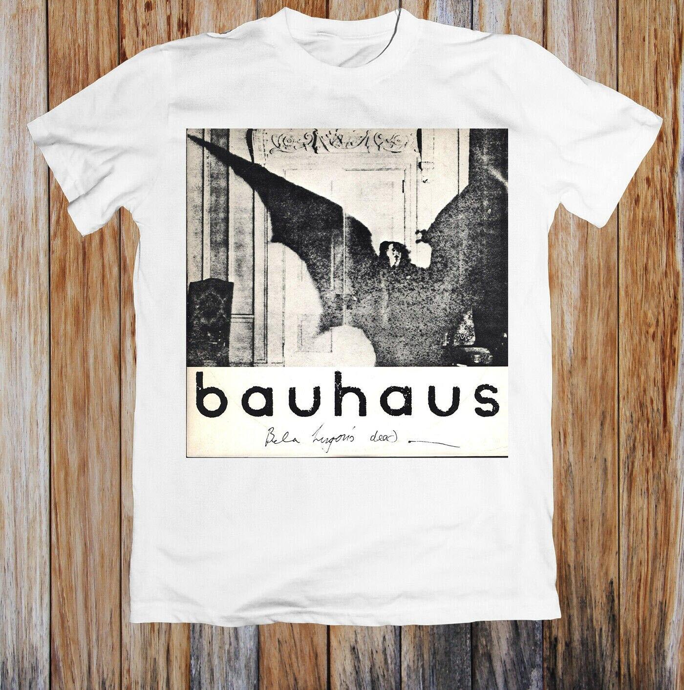 Bauhaus Bela Lugosi's Dead Rock Retro T Shirt