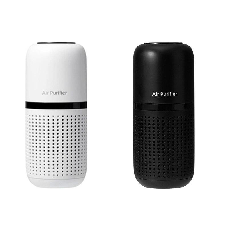 Мини Портативный ионизатор воздуха с HEPA-фильтром для рабочего стола, новый автомобиль
