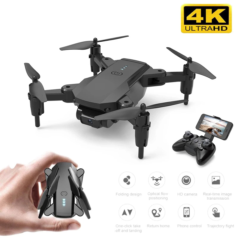 Hot E3 Mini Drone WITH Camera 4K Hight Hold Optioal Flow Remote Control Gesture Selfie RC Quadcopter Dron Toys Gift For Kids