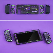Anti fall Split Shell Tempered Film for Nintend Switch Game Console & Joy Con Creative Protective Case Host Cover