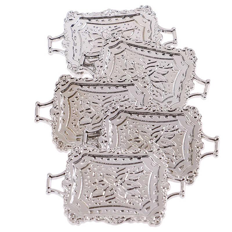 Новые миниатюрные куколные столовые принадлежности поставка сплав поддон для выпечки муляжи пищевых продуктов мебель для 1:12 весы Кукольный дом модель Декор поставки