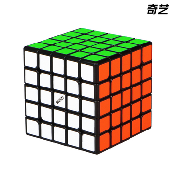 New Qiyi 5x5 Black Speed Cube QIYI Stickerless Magnetic 5x5x5 Cubo Magico Cubes Professional Puzzle Toys For Children