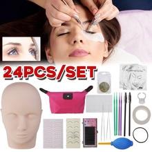 Накладное наращивание ресниц, набор инструментов для наращивания ресниц, набор для практических занятий, набор манекенов для макияжа, набор для практики, для глаз