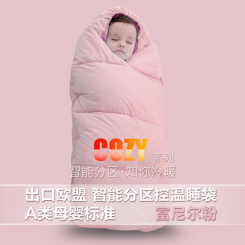 Зимняя утолщенная детская спальная сумка для детей от 0 до 24 месяцев, детская теплая зимняя сумка для коляски, плотные теплые спальные мешки для младенцев