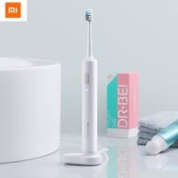 Original Xiaomi Youpin Doctor B Electric Toothbrush head IPX7 Waterproof Sonic Motor With Travel Box Toothbrush Head 2 Type|Electric Toothbrushes| |  -