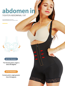 Image 3 - Aiconl Women Body Shaper Waist trainer Bodysuit Latex Shapewear Butt Lifter Tummy Control Waist Shaping Slimming Underwear