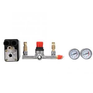 Image 4 - Автоматический клапан давления в сборе, 90 ~ 220 psi, для воздушного компрессора с одним отверстием, в, регулятор воздушного компрессора