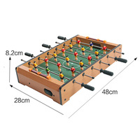 Children's Game Football Table Soccer Table Board Game Parent child Tabletop Soccer Foosball Table Suitable for 3 10 Years Old