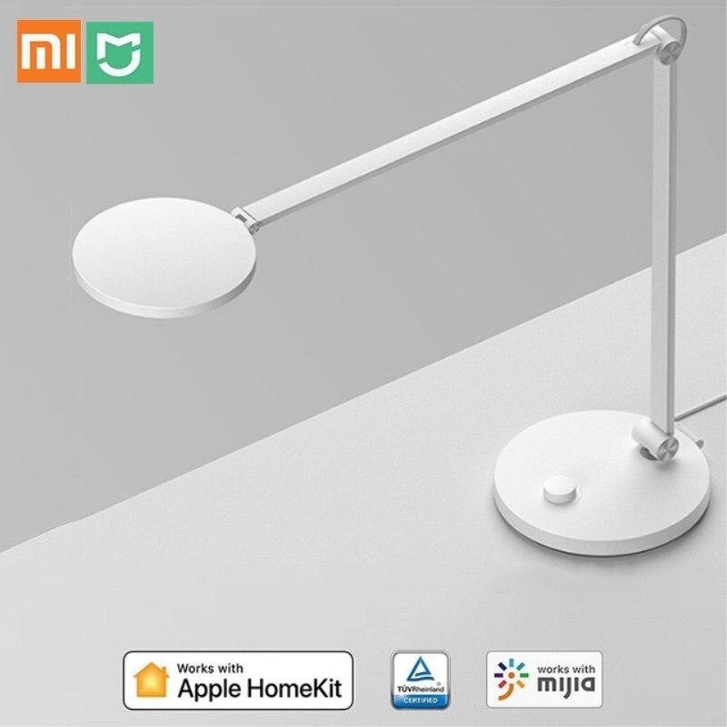 Xiaomi Mijia Schreibtisch LED Lampe augenschutz Schreibtisch Lampe 2500 4800K Ra90 Licht WiFi Bluetooth Unterstützt HOMEKIT mijia Smart Control
